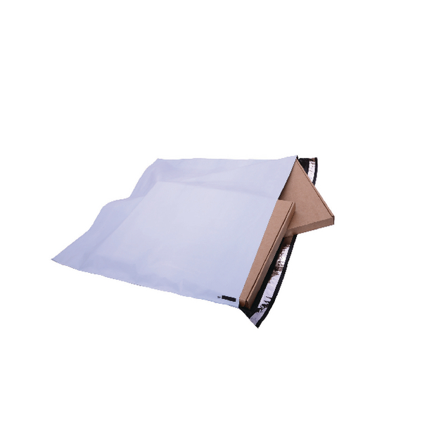 GoSecure Extra Strong Polythene Envelopes 460x430mm (Pack of 100) PB28282