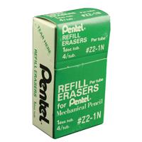 Pentel Refill Erasers Pk4 Z2-1N