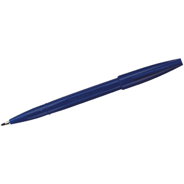 Pentel Sign Pen Fibre Tip Blue (Pack of 12) S520-C