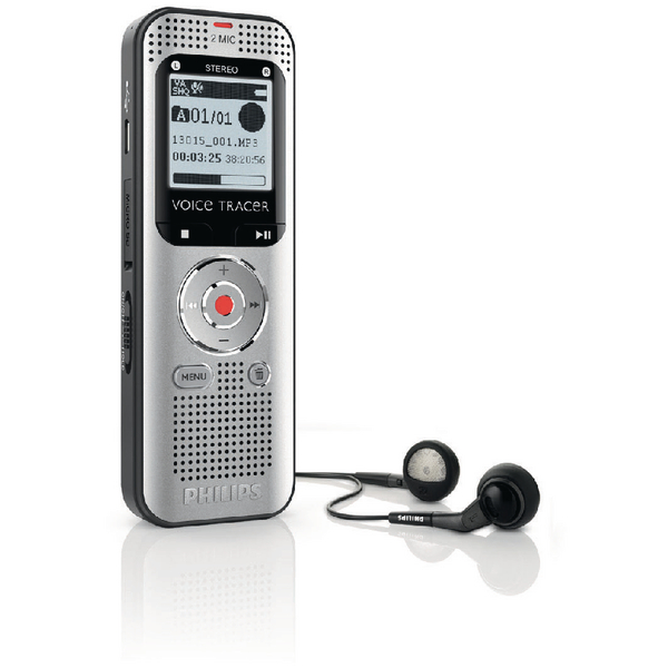 Image for Philips Voice Tracer Stereo Digital Recorder 4GB DVT2000