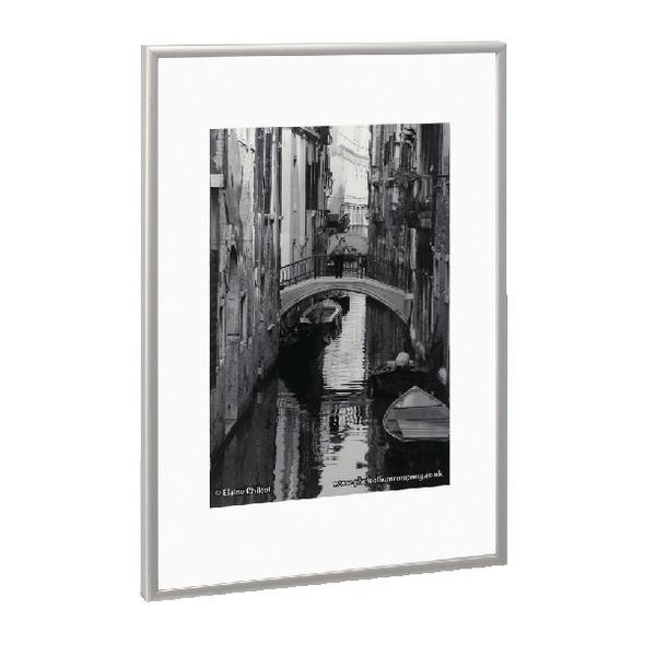 Photo Album Company Brushed Aluminium A3 Certificate Frame PAAFA3B