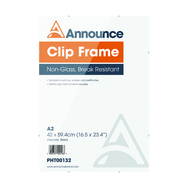 Image for Announce A2 Clip Frame