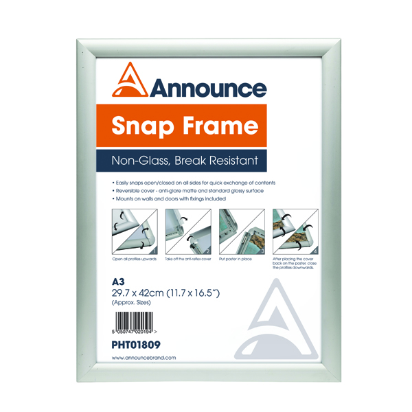 Image for Announce A3 Snap Frame