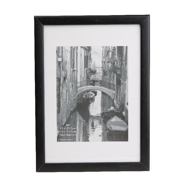 Image for Photo Album Co Black Wood Certificate Frame Non Glass KENTA4NG