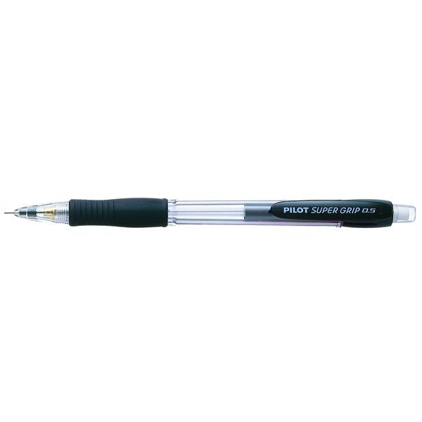 Pilot Super Grip Mechanical Pencil Black (Pack of 12) 506101201