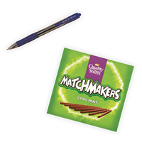 Pilot G207 Retractable Gel Blue Pen Pack of 12 with Free Matchmakers