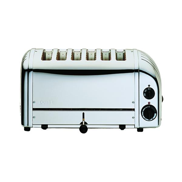 Dualit Vario 6 Slice Toaster Stainless Steel DA0144