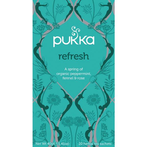Pukka Refresh Tea (Pack of 20) P5002