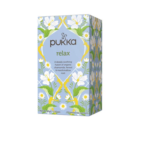 Pukka Relax Tea (Pack of 20) P5003