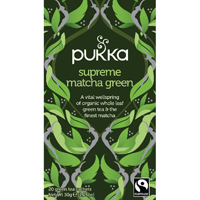Pukka Supreme Matcha Tea Bags (Pack of 250) P5056/250