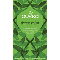 Pukka Three Mint Tea Bags