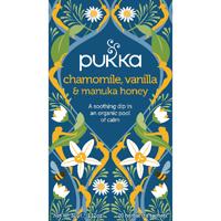 Pukka Chamomile Vanilla and Manuka Tea