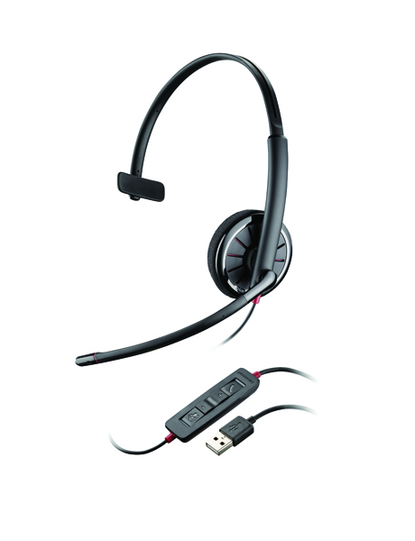 Image for Plantronics Black C310 UC Black Wire Headset 85618-02