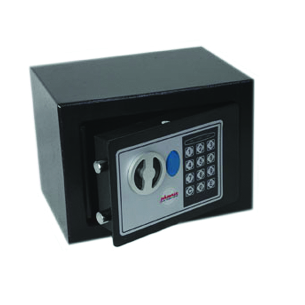 Phoenix Black Compact Home and Office Security Safe Size 1 Electric Lock SS0721E