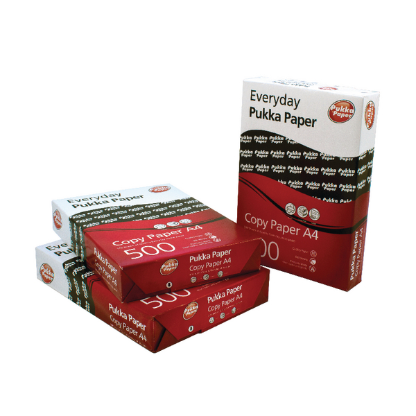 Pukka 80gsm A4 Copier Paper 5 Reams White (2500 Pack) 6083-PAP
