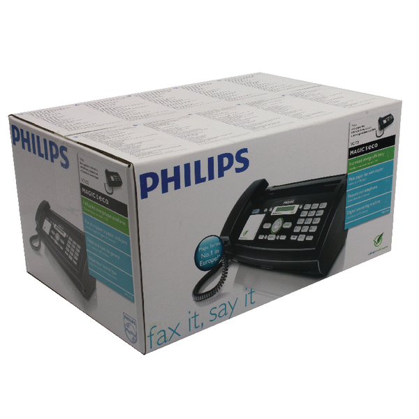 Image for Philips Magic 5 Thermal Transfer Fax Machine TAM/SMS Text PPF675