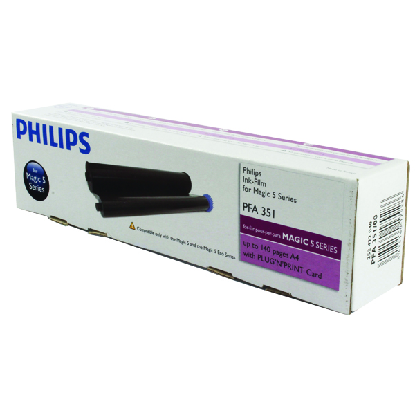 Philips Fax Ink Film Black Ribbon PFA351
