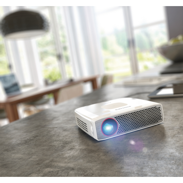 Image for Philips PicoPix Pocket Projector Silver PPX4835