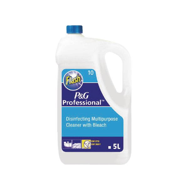 Flash Floor Cleaner With Bleach 5 Litre