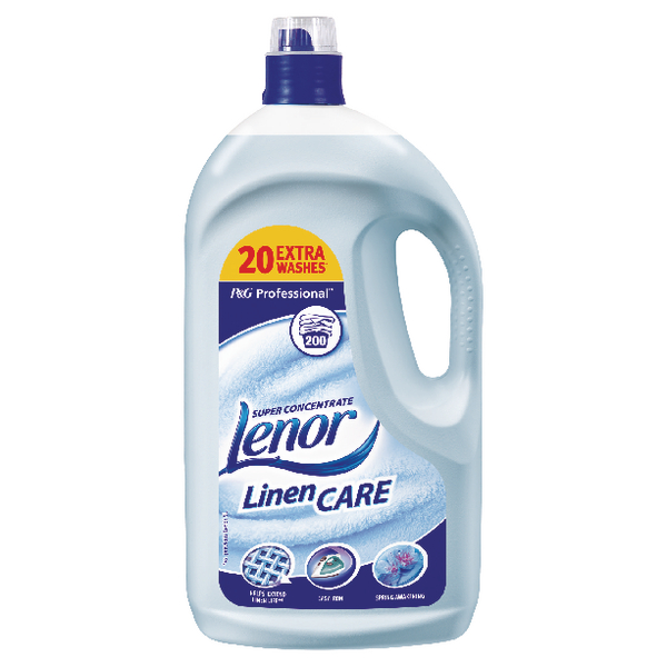 Lenor Spring Awakening Fabric Softener 5 Litre (Pack of 1) 5413149190955