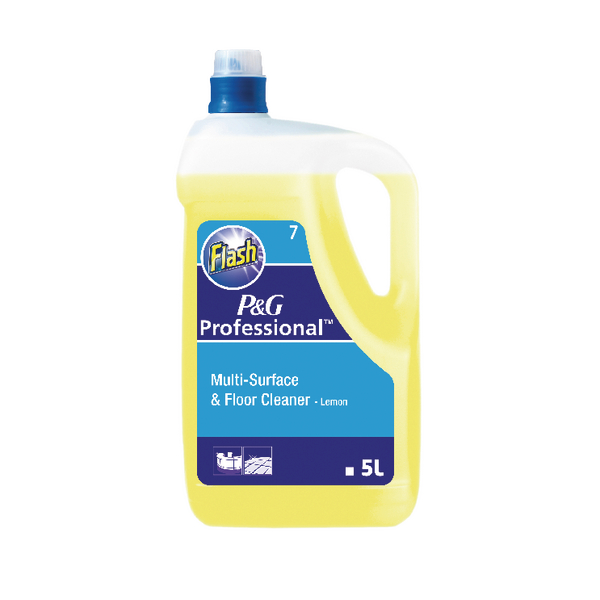 Flash Lemon All Purpose Cleaner 5 Litre 5413149200111