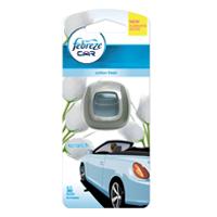 Febreze Car Air Freshener Cotton Fresh (Pack of 1) 81393812
