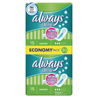 Always Ultra Normal Duo Pack (Pack of 240) 83720117