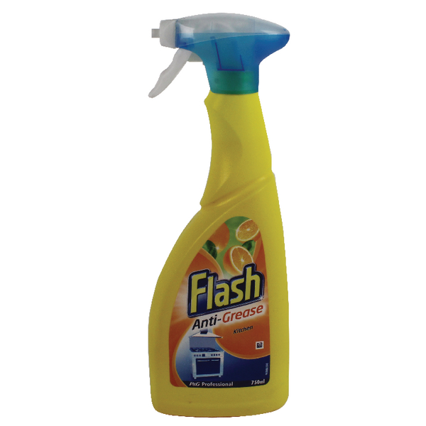 Flash Anti Grease Kitchen Spray 750ml 5413149890275