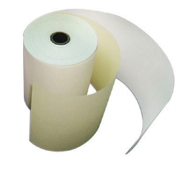 Image for Credit Card Machine Roll 2-Ply 57x55x12.7mm White/Yellow CC2/K