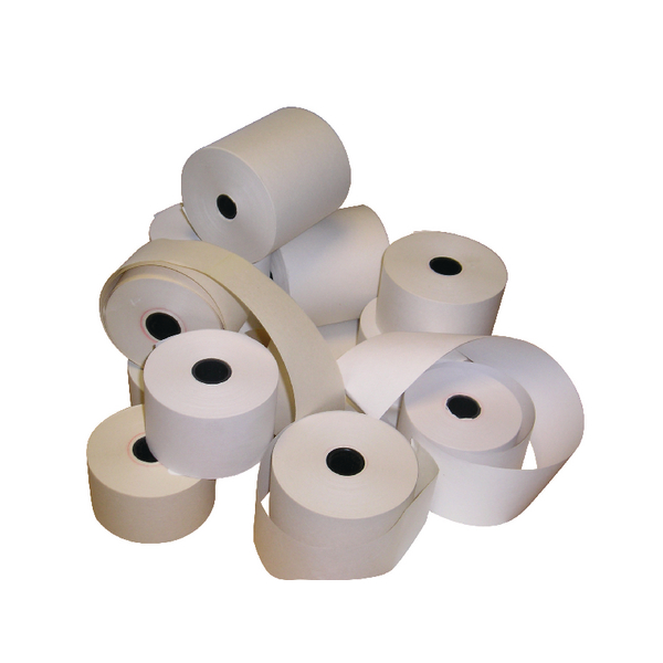 Prestige Thermal Till Rolls 80mmx80mm White