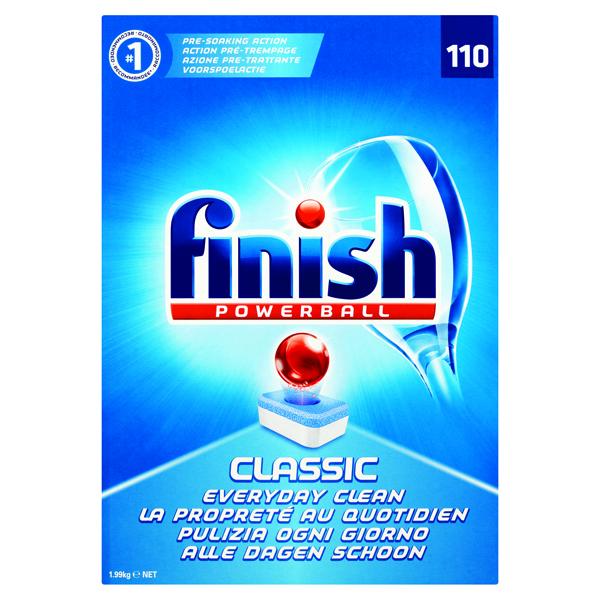 Finish Classic Dishwasher Cleaner Regular (Pack of 110) 3032090