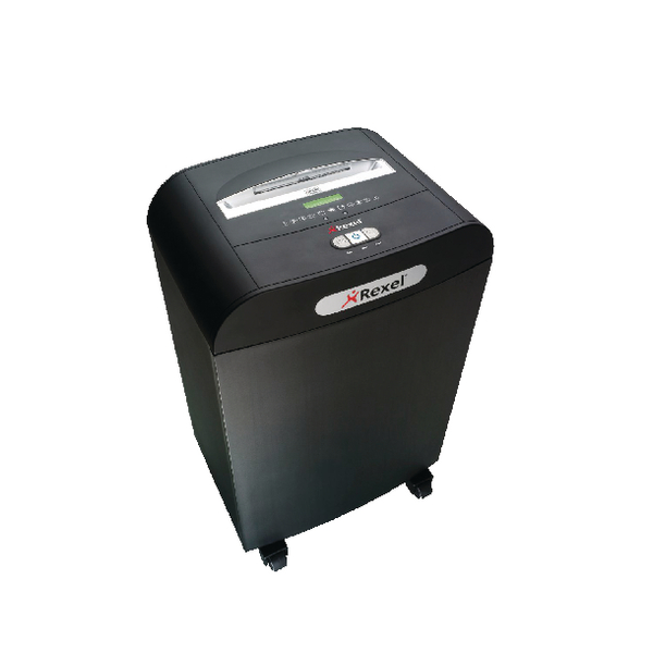 Image for Rexel Black Mercury RDS2270 Freeflow Strip-Cut Shredder 2102433