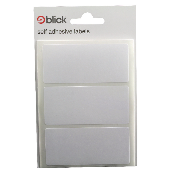 Blick White Label Bag 34x75mm (Pack of 420) RS003755
