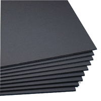 West Design Black A1 5mm Foamboard (Pack of 10) WF7001