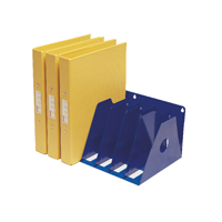 Image for Rotadex Blue 7 Section A4 Ring Binder Filing Unit A4R/7