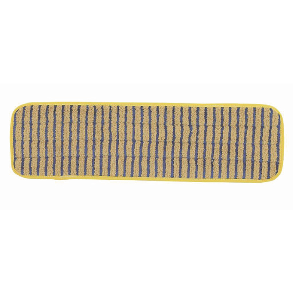Rubbermaid Microfibre 400mm Scrubber Mop Head Yellow RU17533