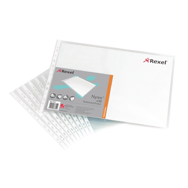 Rexel Nyrex A3 Top Opening Pockets 11440