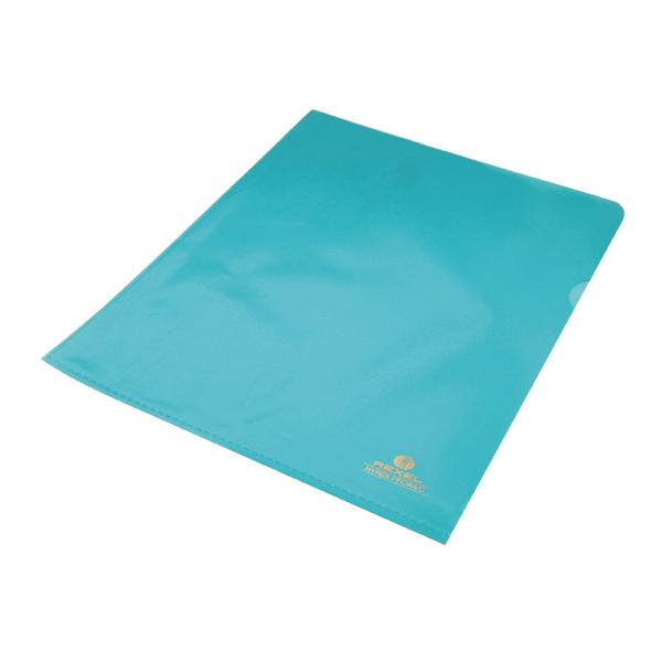 Rexel Nyrex A4 Blue Cut Flush Folder (Pack of 25) 12161BU