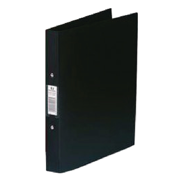 Rexel Budget 2 A4 Ring Binder Black (Pack of 10) 13422BK