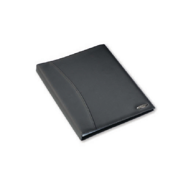 Rexel Soft Touch Smooth A4 Display Book 36 Pocket Black 2101189
