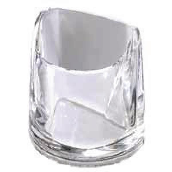 Rexel Nimbus Clear Acrylic Pencil Cup 2101502