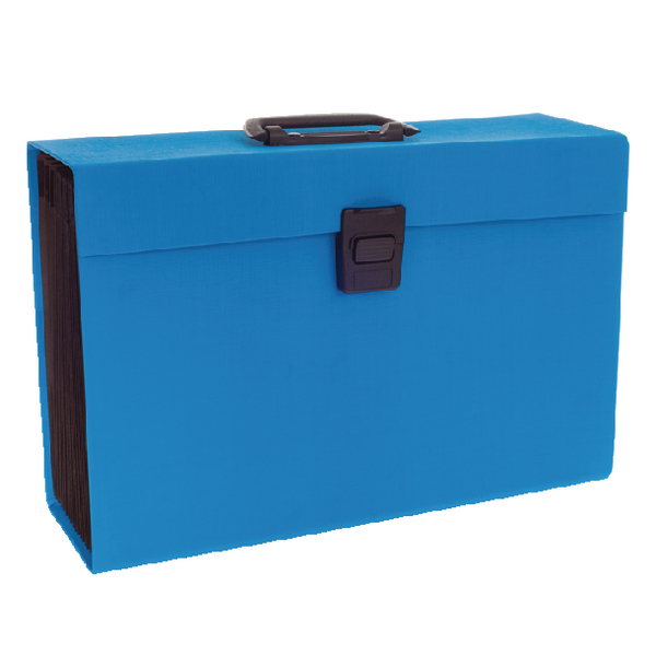 Rexel JOY Blissful Blue Expanding Box File 2104019