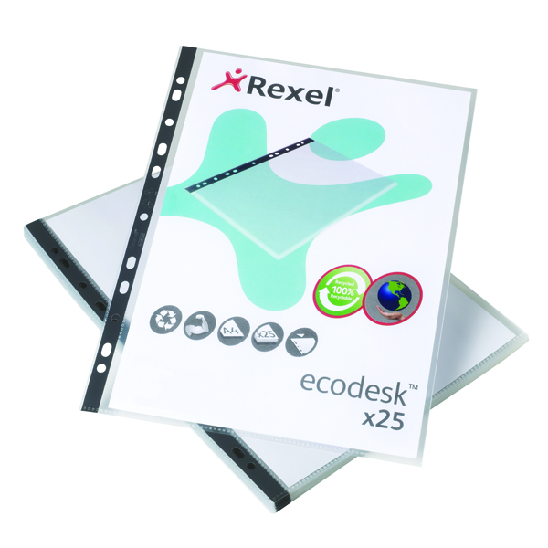 Rexel Eco Filing Multi Punched Pocket (Pack of 25) 2102242
