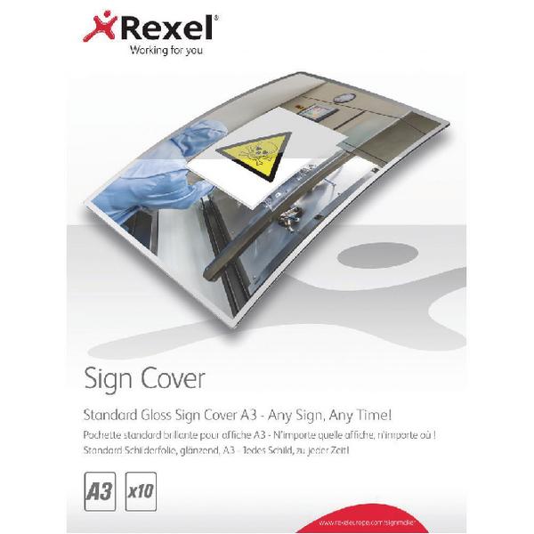 Rexel Standard Gloss Sign Cover A3