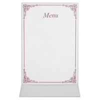 Caterpack A4 Menu Cards (Pack of 50) RY00767