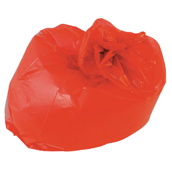 Red Refuse Sack 100g (200 Pack) CS003