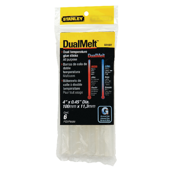 Image for Stanley Dual Melt Glue Stick 4 Inch Pk24