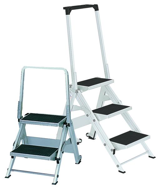 Safety Step Aluminium 2 Tread 306893