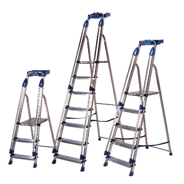 Aluminium Blue Seal Ladder 6 Tread (Pack of 1) 311496