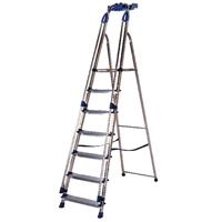 Aluminium Blue Seal Ladder 8 Tread (Pack of 1) 311498